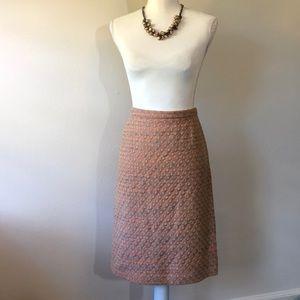 Rena Lange Tweed Pencil Skirt - 10